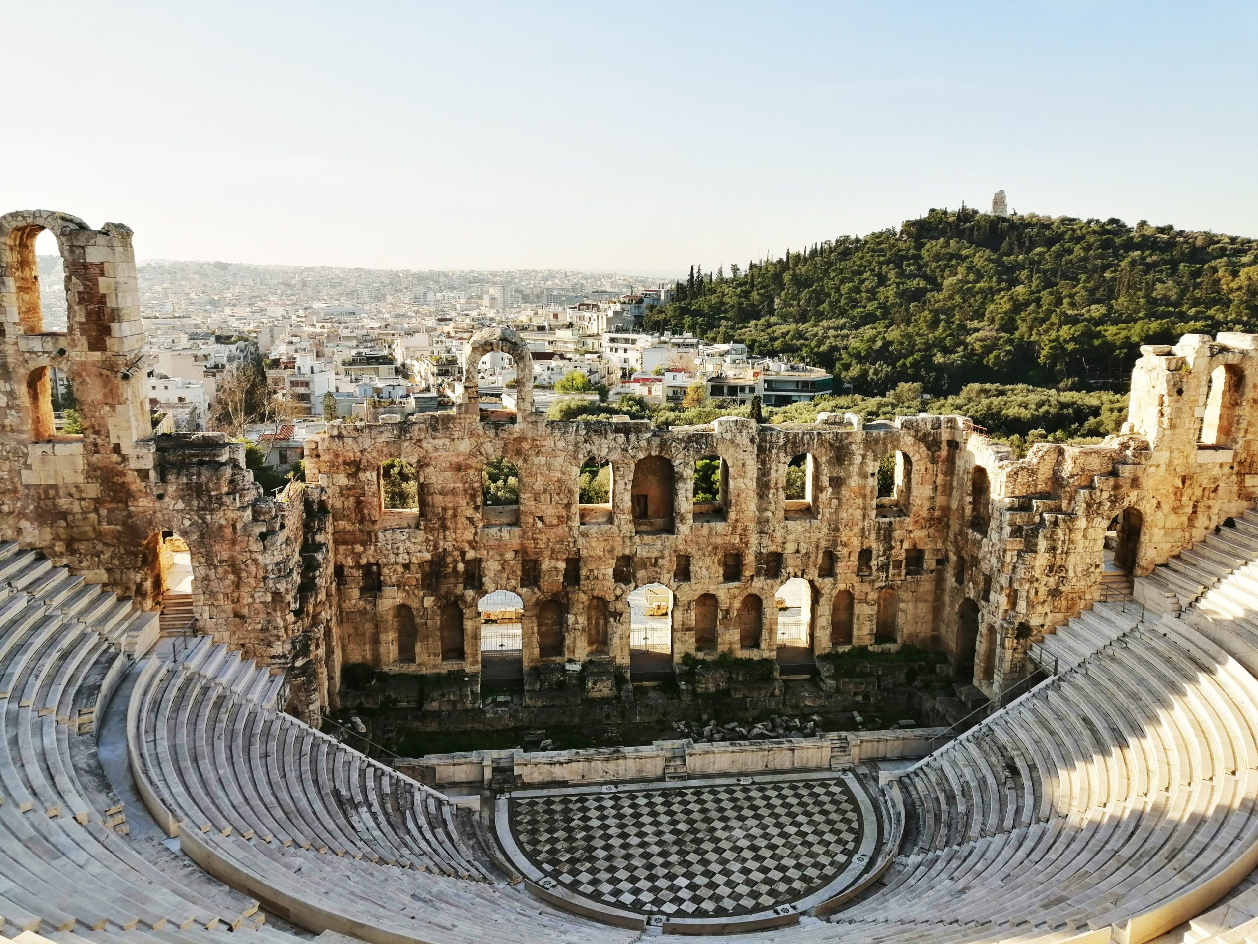 Open air arena in Athens