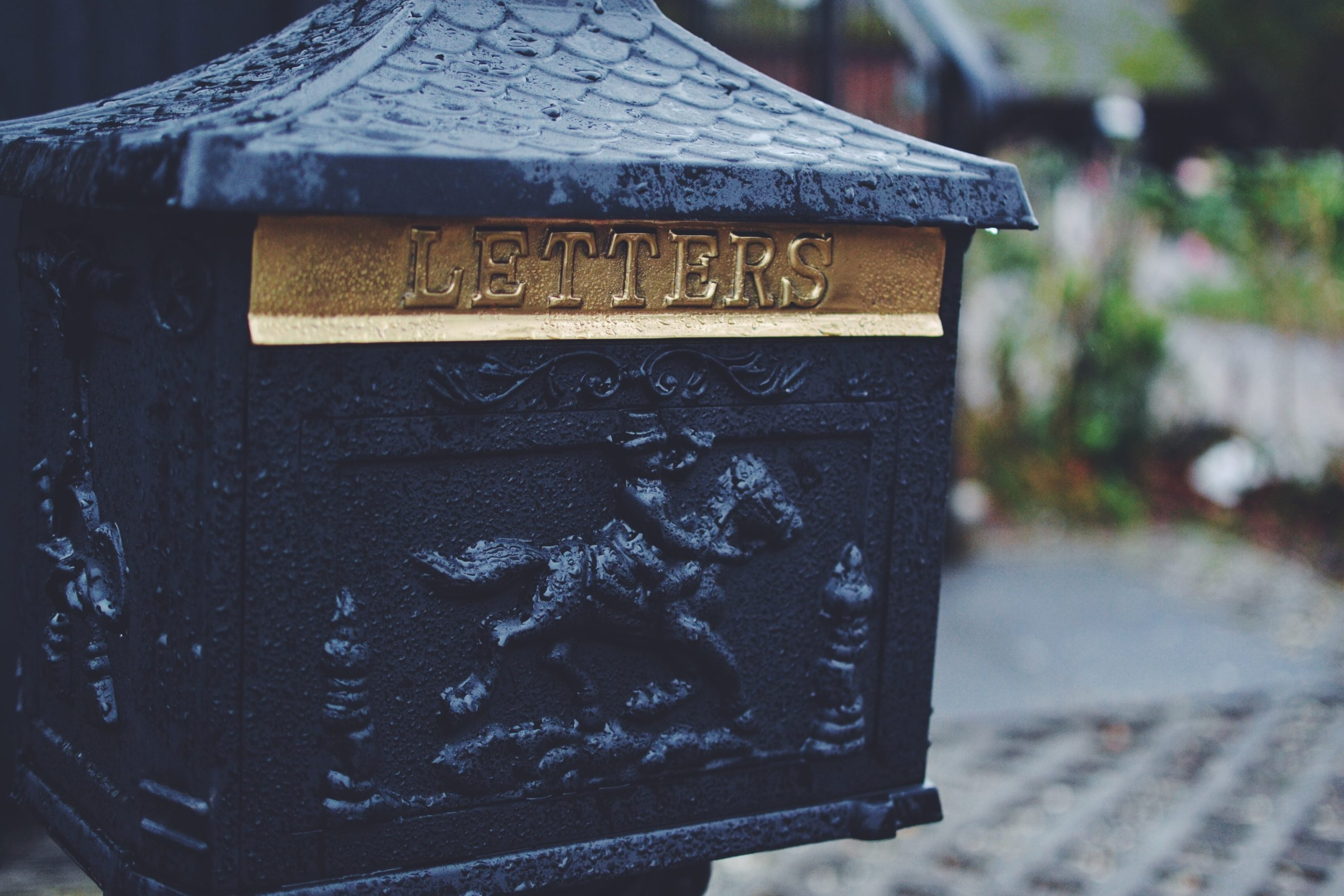 Photo of a letterbox