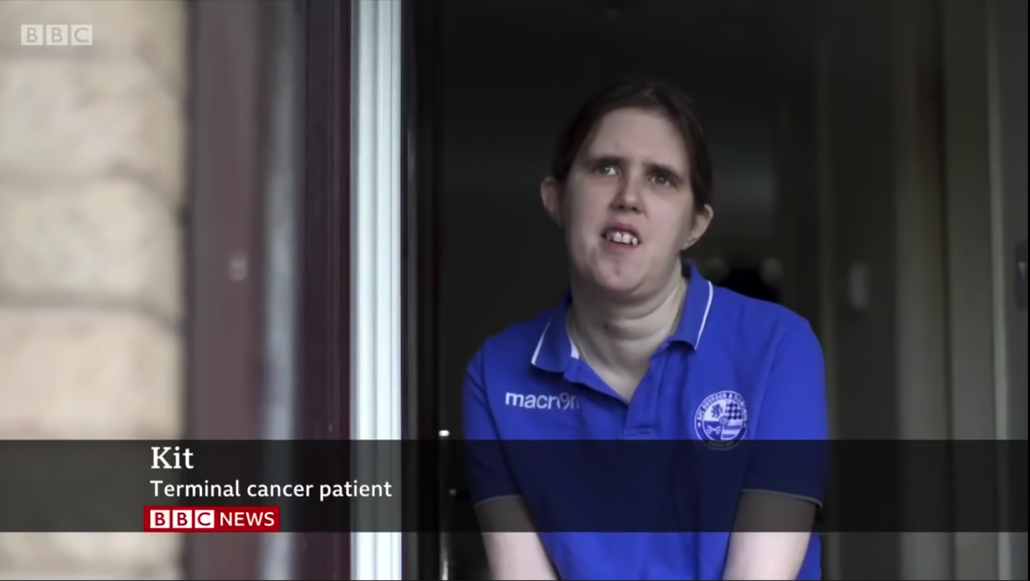 METUP Member Kit appearing on BBC News
