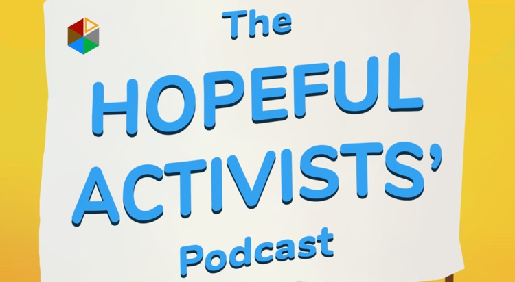 The Hopeful Activists Podcast Logo
