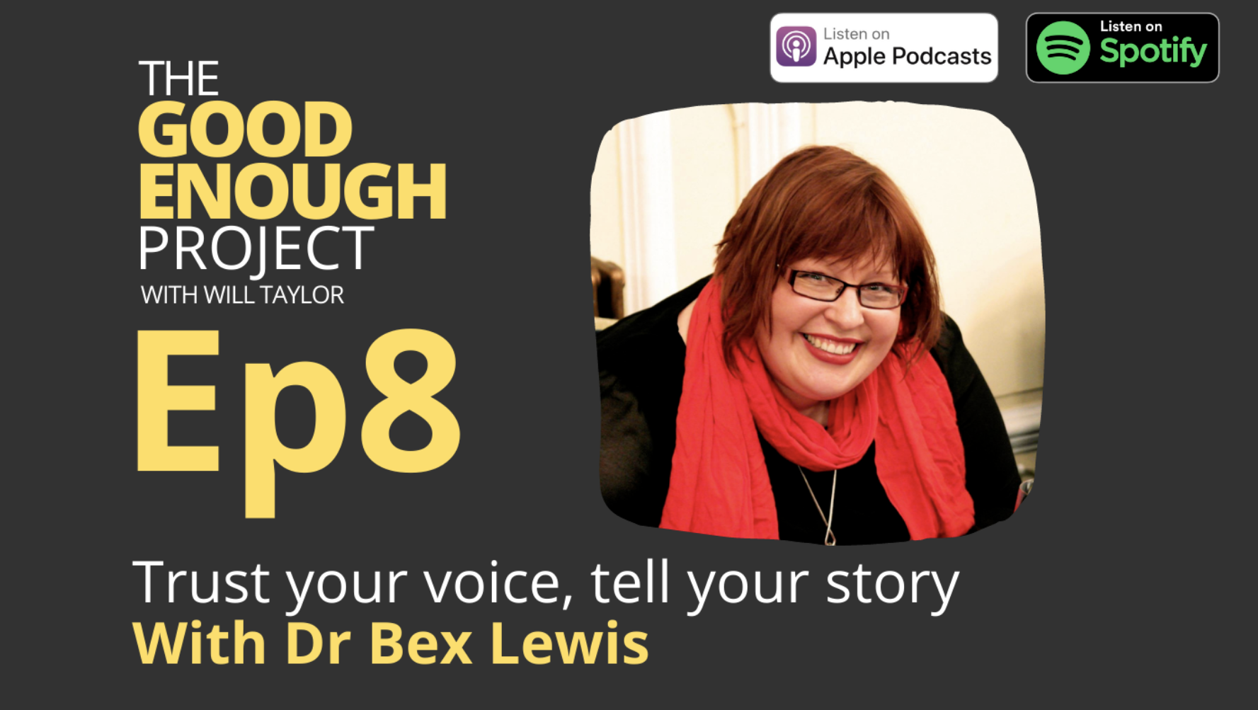 Bex Lewis Podcast Cover Image