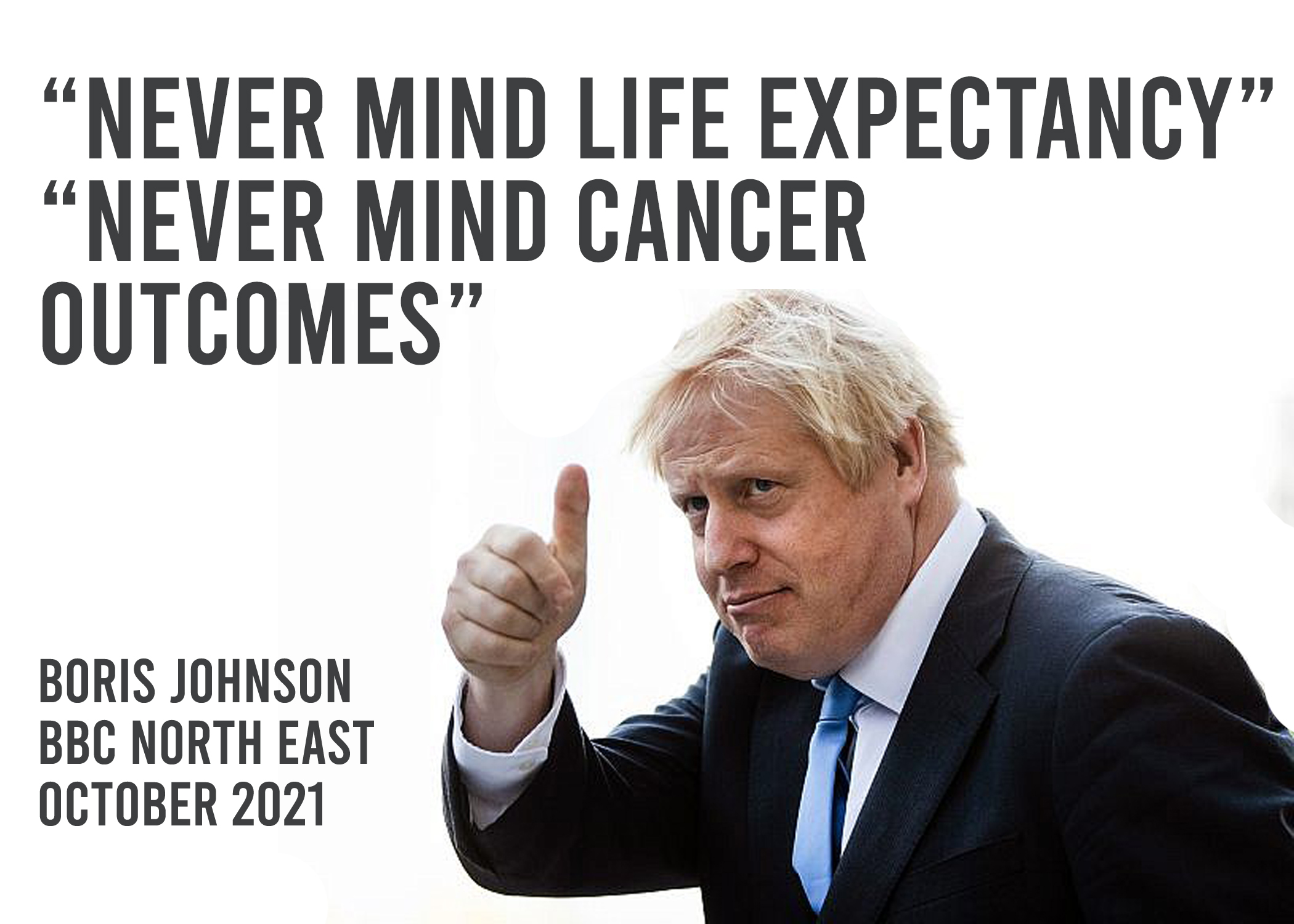 """""""Never mind cancer outcomes"""""""